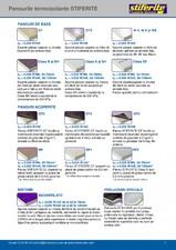 Aplicatii principale pentru panouri termoizolante din spuma rigida (PIR) Stiferite