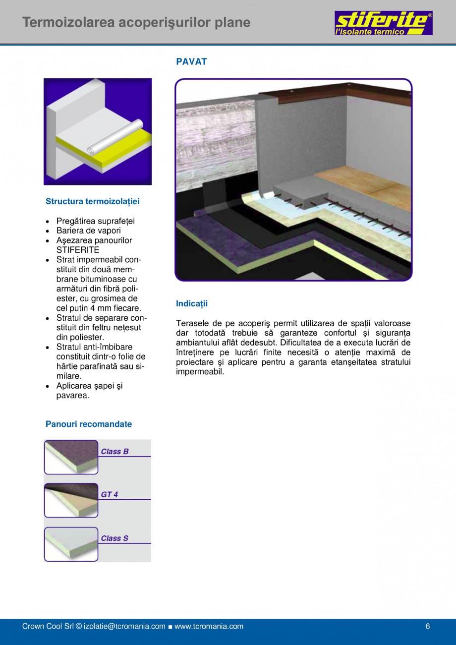 Pagina 6 - Aplicatii principale pentru panouri termoizolante din spuma rigida (PIR) Stiferite Class ...