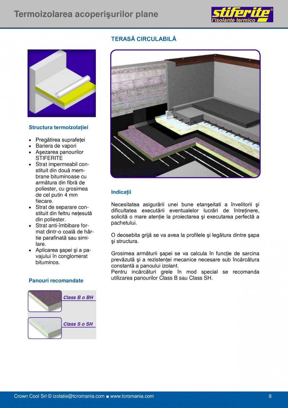 Pagina 8 - Aplicatii principale pentru panouri termoizolante din spuma rigida (PIR) Stiferite Class ...