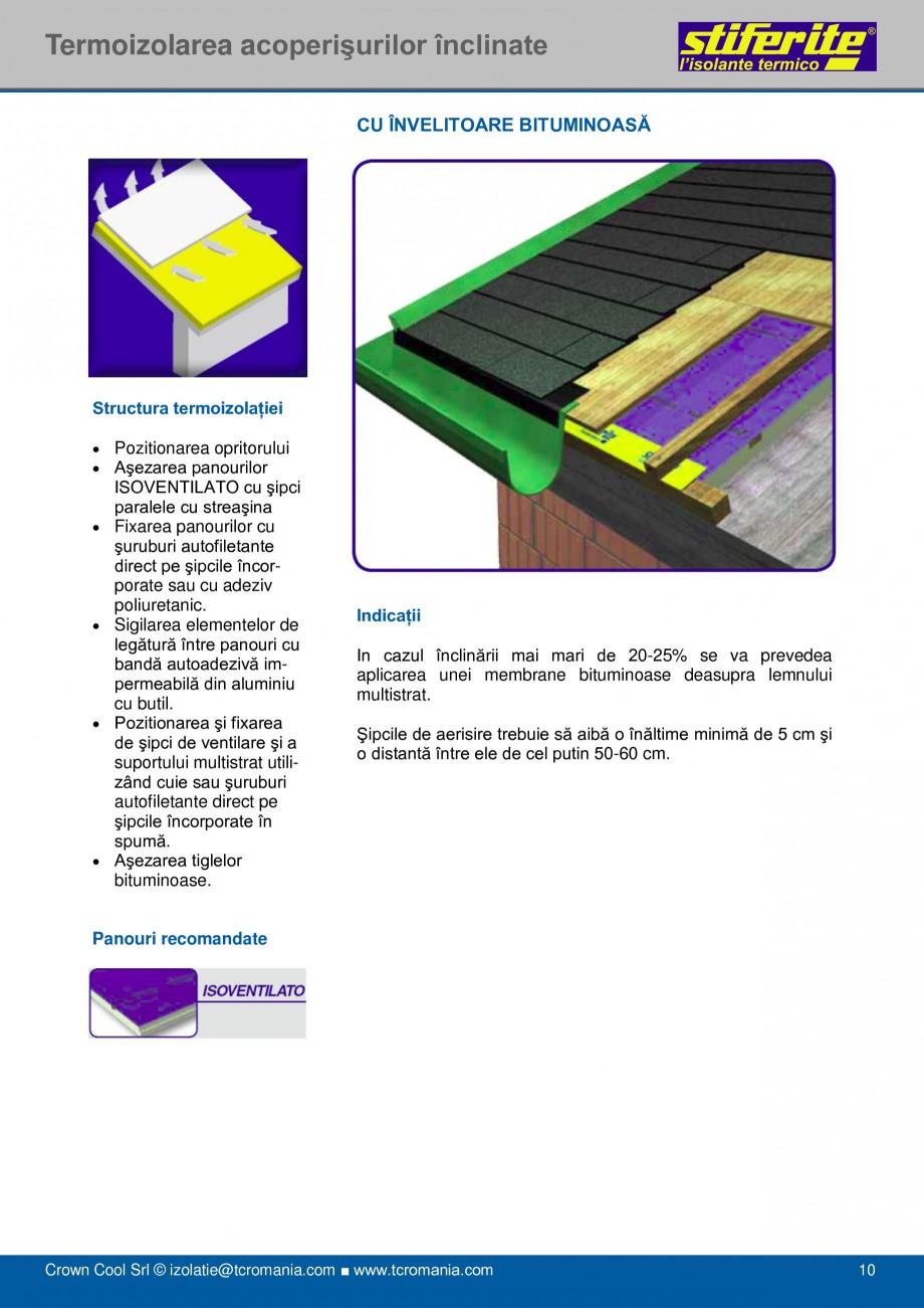 Pagina 10 - Aplicatii principale pentru panouri termoizolante din spuma rigida (PIR) Stiferite Class...