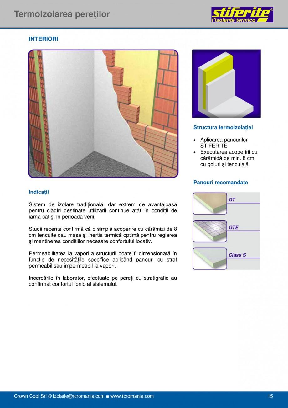 Pagina 15 - Aplicatii principale pentru panouri termoizolante din spuma rigida (PIR) Stiferite Class...