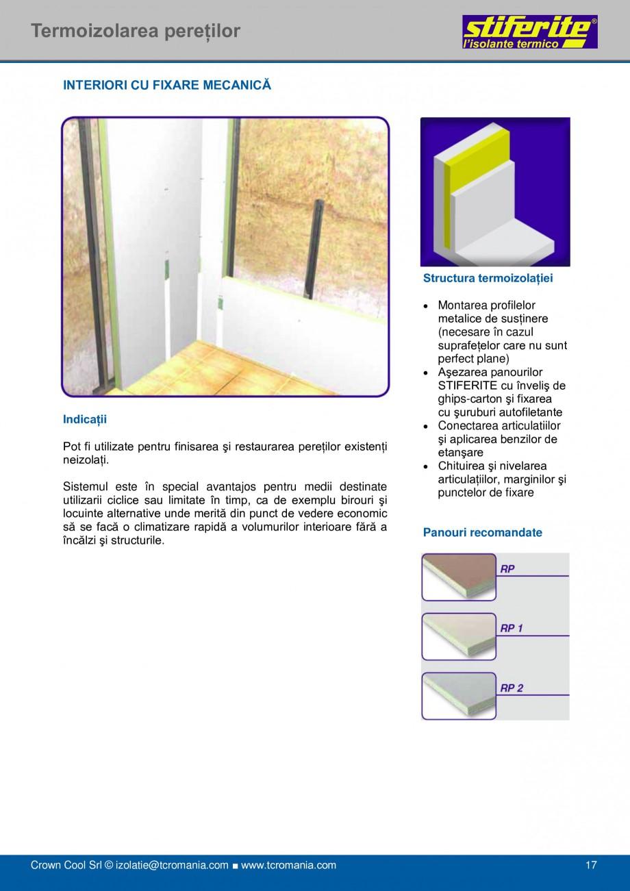 Pagina 17 - Aplicatii principale pentru panouri termoizolante din spuma rigida (PIR) Stiferite Class...