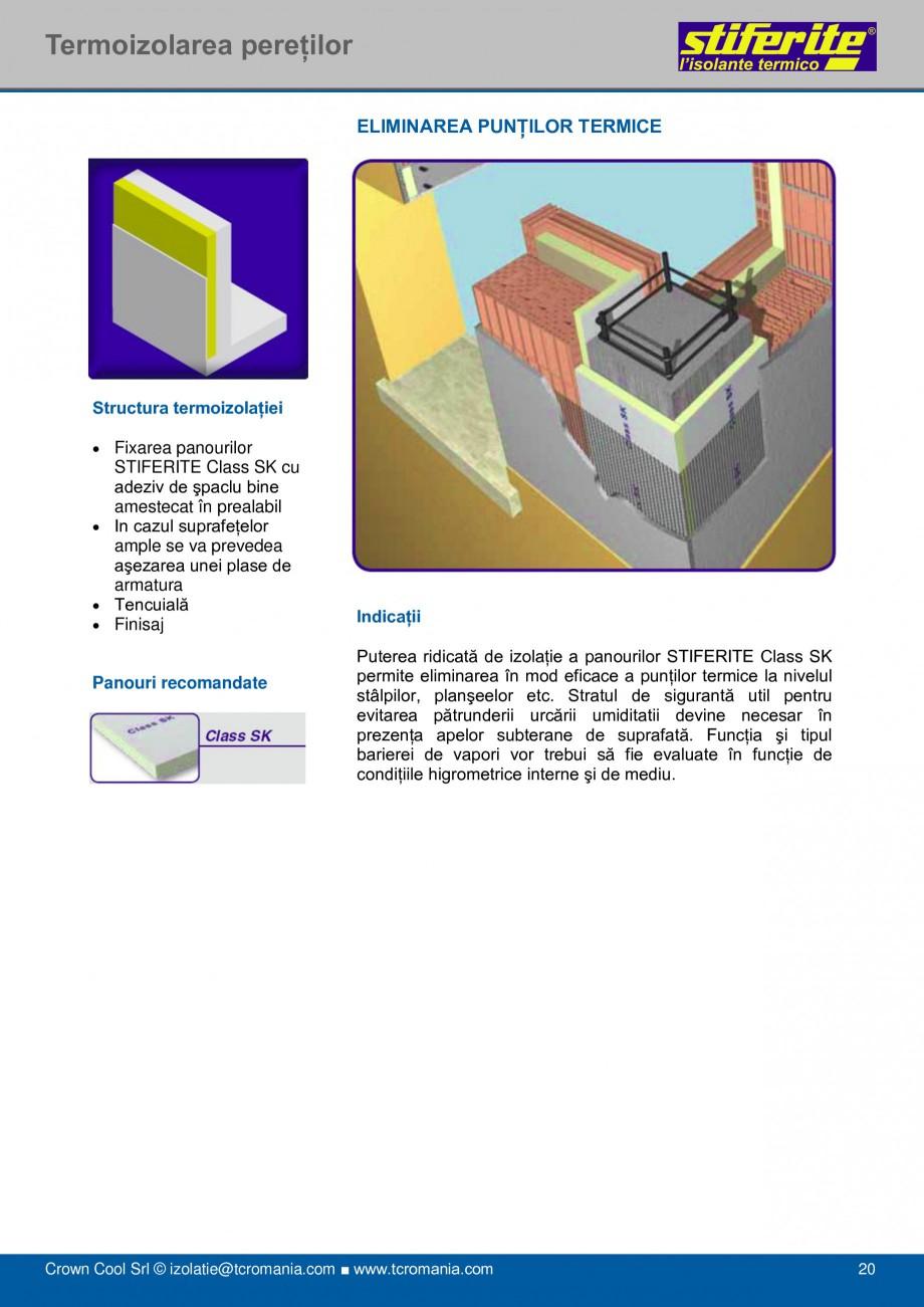 Pagina 20 - Aplicatii principale pentru panouri termoizolante din spuma rigida (PIR) Stiferite Class...