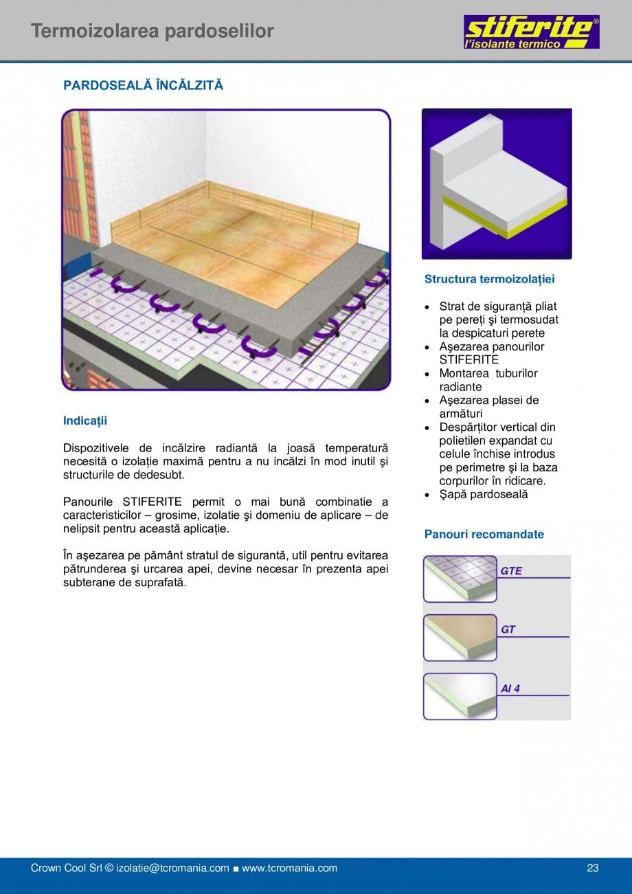 Pagina 23 - Aplicatii principale pentru panouri termoizolante din spuma rigida (PIR) Stiferite Class...