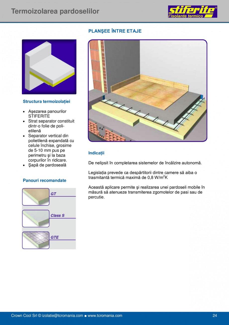 Pagina 24 - Aplicatii principale pentru panouri termoizolante din spuma rigida (PIR) Stiferite Class...