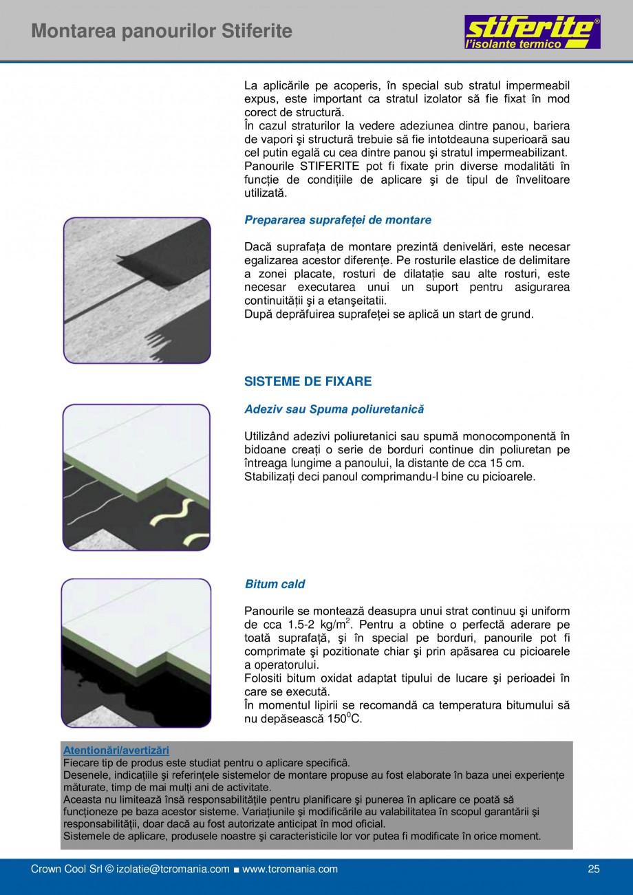 Pagina 25 - Aplicatii principale pentru panouri termoizolante din spuma rigida (PIR) Stiferite Class...