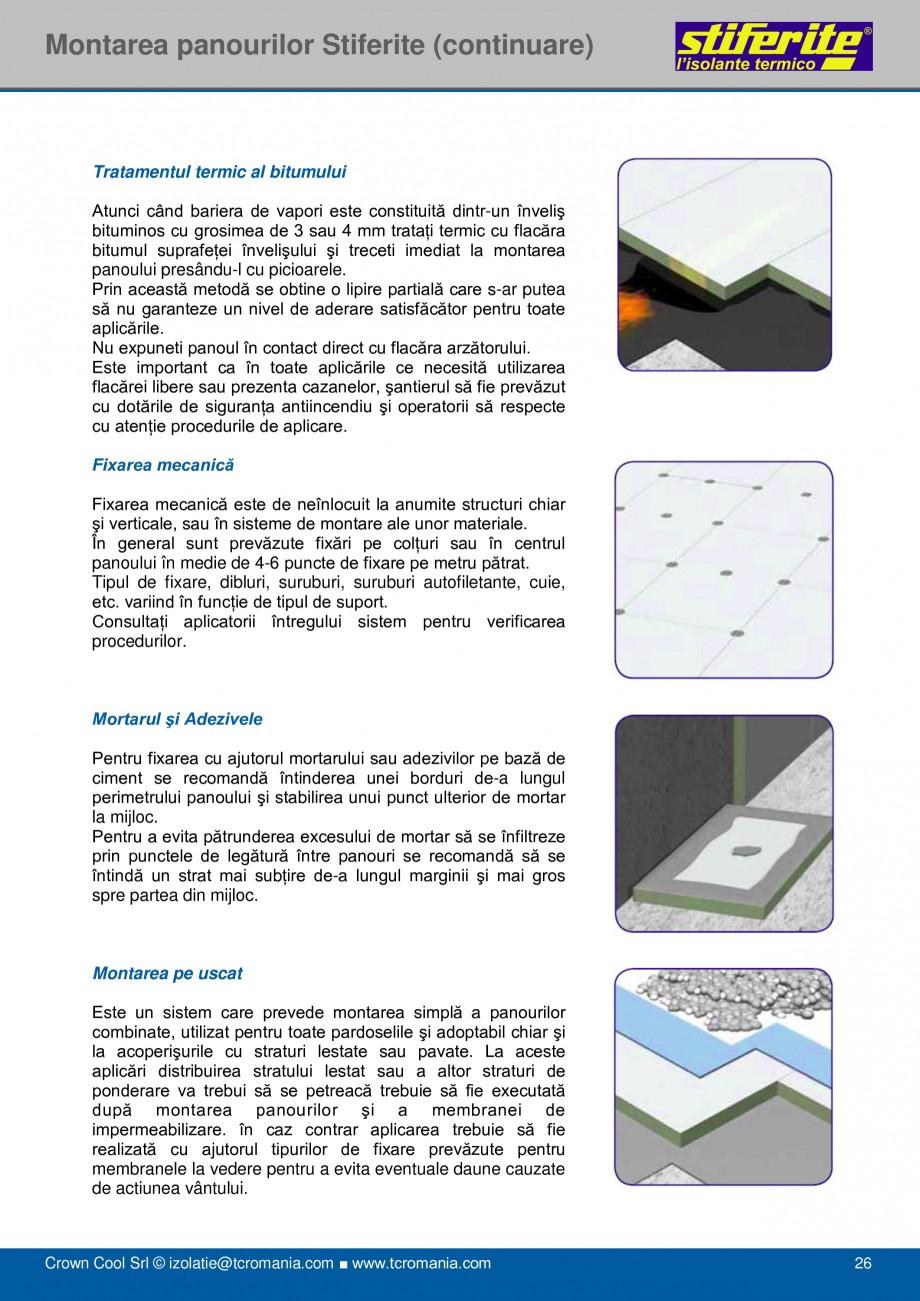 Pagina 26 - Aplicatii principale pentru panouri termoizolante din spuma rigida (PIR) Stiferite Class...