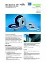 Banda de etansare poliuretanica (PUR) impregnata cu dispersie polimerica