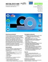Banda de etansare impregnata cu spuma flexibila poliuretanica (PUR) cu dispersie polimerica rezistenta la foc