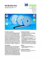 Banda multifunctionala speciala pentru etansarea rosturilor ISO Chemie