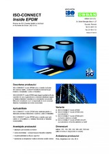 Banda de etansare din cauciuc butilic ISO Chemie