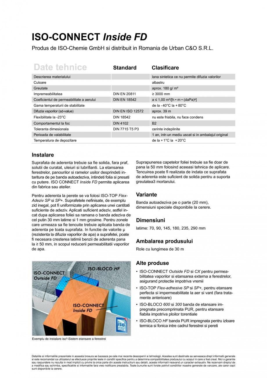 Pagina 2 - Foile speciala pentru o etansare ermetica la aer si vant a ferestrelor, usilor si...