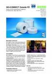 Foile speciala extrem de flexibila si alungibila pentru etansare la intemperii ISO Chemie - ISO-CONNECT Outside