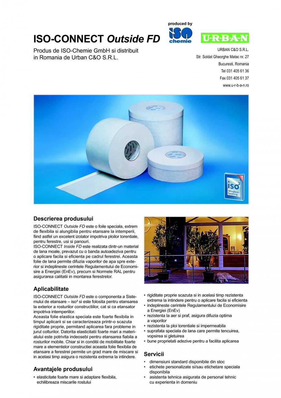 Pagina 1 - Foile speciala, extrem de flexibila si alungibila pentru etansare la intemperii ISO...