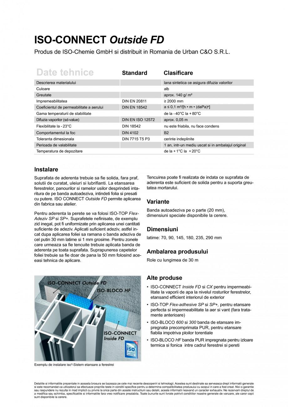 Pagina 2 - Foile speciala, extrem de flexibila si alungibila pentru etansare la intemperii ISO...