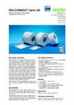 Folie speciala pentru izolarea rosturilor cu proprietati de reglare a umiditatii ISO Chemie - ISO-CONNECT Vario