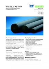 Material de etansare rotund pentru umplerea rosturilor de dilatatie ISO Chemie