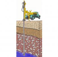 Executie foraje pompe de caldura Ideal Standardofera solutii de climatizare, atat persoanelor fizice, cat si societatilor comerciale, asociatiilor de proprietari si asociatiilor neguvernamentale. In procesul de instalare al pompei de caldura, o etapa foarte importanta si absolut necesara, o reprezinta lucrarile de foraj care vor permite instalarea si functionarea pompei de caldura la parametrii normali.