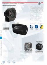 Ventilatoare centrifugale de joasa presiune Soler & Palau