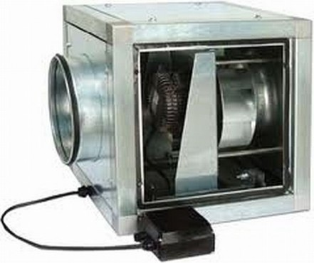 Ventilatoare in cabinet acustic - CVAB CVAT Soler & Palau - Poza 4