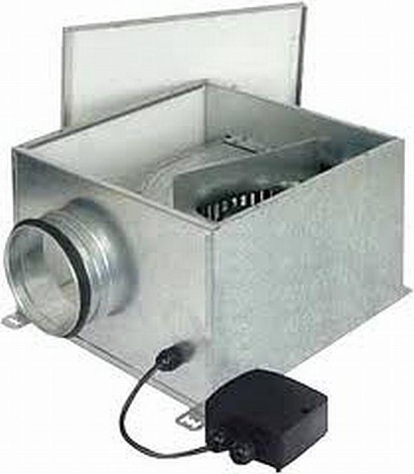 Ventilatoare in cabinet acustic - SLIMBOX-CVB Soler & Palau - Poza 7