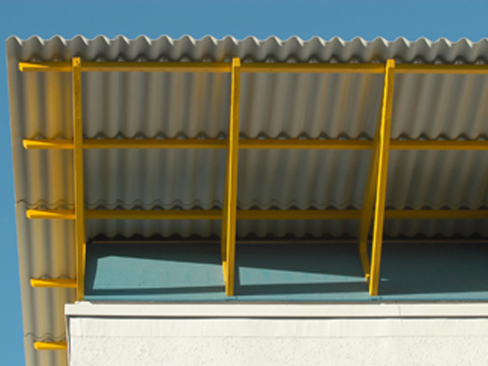 Placi fibrociment pentru acoperisuri  FIBROBETON - Poza 1