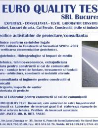Servicii specifice activitatilor de proiectare/consultanta