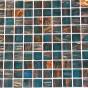 Mozaic sticla cu insertii aurii TM0075 Top mosaic - Poza 1
