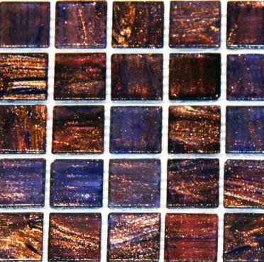 Mozaic sticla cu insertii aurii TM0079 Top mosaic - Poza 5