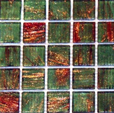 Mozaic sticla cu insertii aurii TM0081 Top mosaic - Poza 6