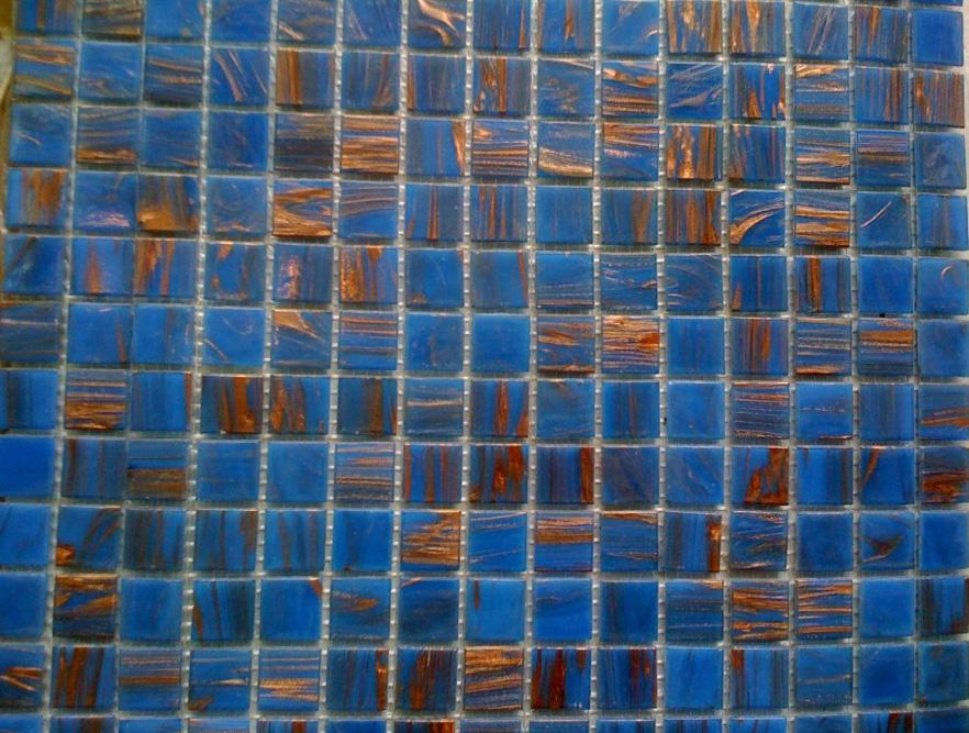 Mozaic sticla cu insertii aurii TM0318 Top mosaic - Poza 10