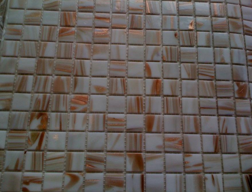 Mozaic sticla cu insertii aurii TM0320 Top mosaic - Poza 12