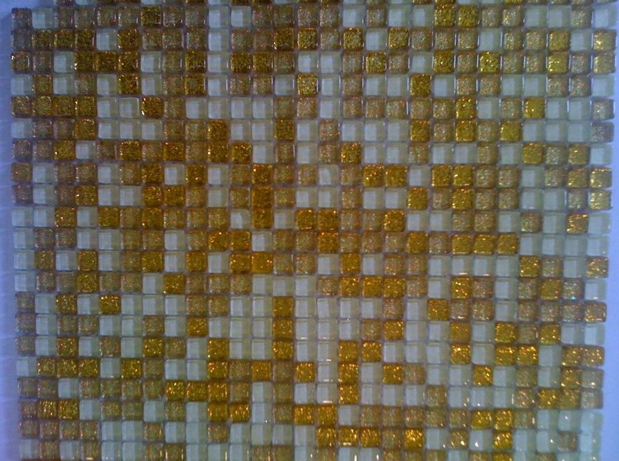 Mozaic sticlă aur TM0058 Top mosaic - Poza 1