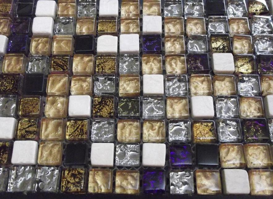 Mozaic sticlă și piatră TM0275 Top mosaic - Poza 40