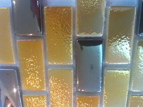 Mozaic sticla brick TMG0048 Top mosaic - Poza 1