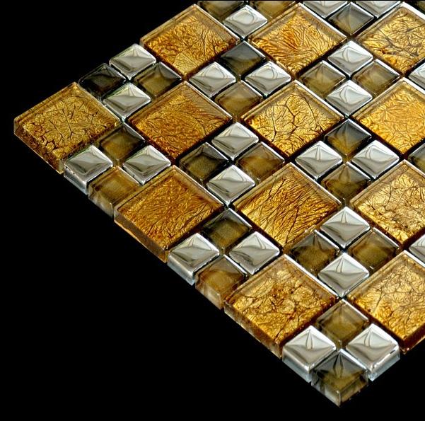 Mozaic sticla metalica textura speciala TM0300 Top mosaic - Poza 5