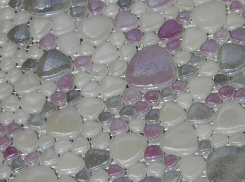Mozaic sticla pebbles TMG0040 Top mosaic - Poza 8