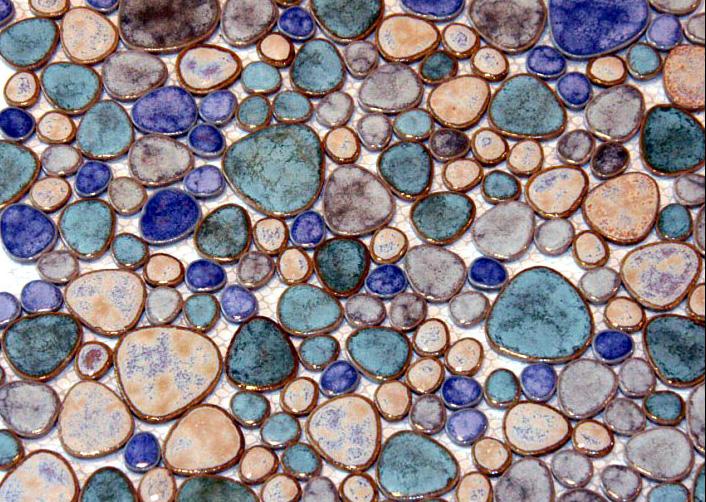 Mozaic ceramica Pebbles TM0007 Top mosaic - Poza 4