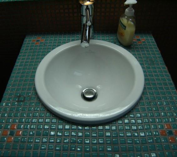 Mozaic baie 16 Top mosaic - Poza 2