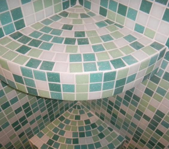 Mozaic baie 21 Top mosaic - Poza 6
