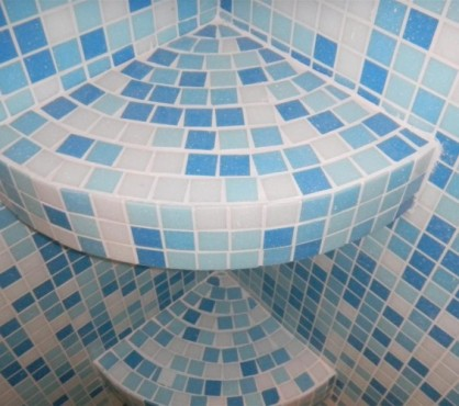 Mozaic baie 21 Top mosaic - Poza 10