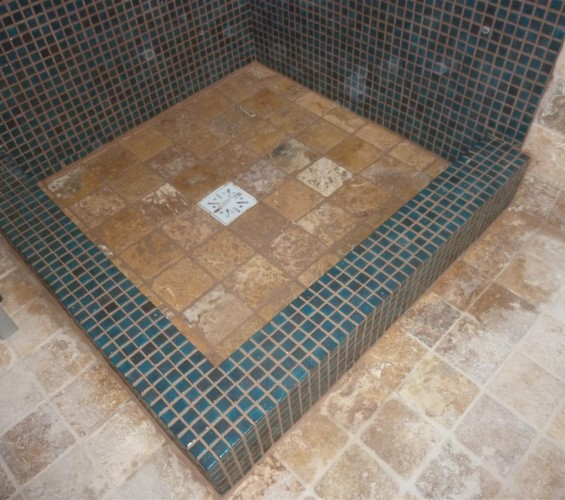 Mozaic baie 27 Top mosaic - Poza 1