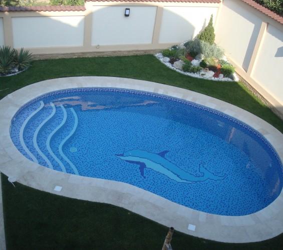 Mozaic piscina 3 Top mosaic - Poza 1