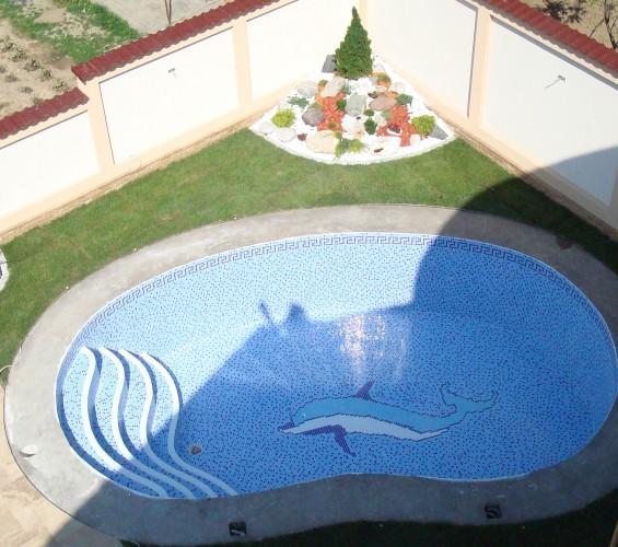 Mozaic piscina 3 Top mosaic - Poza 6