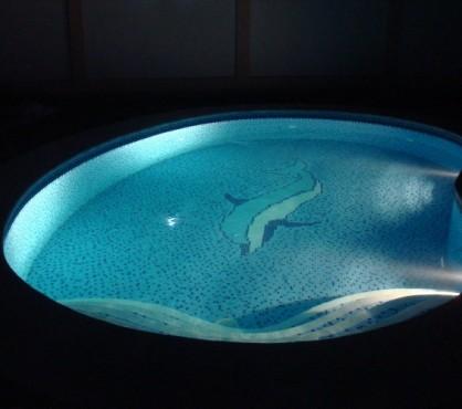 Mozaic piscina 3 Top mosaic - Poza 8
