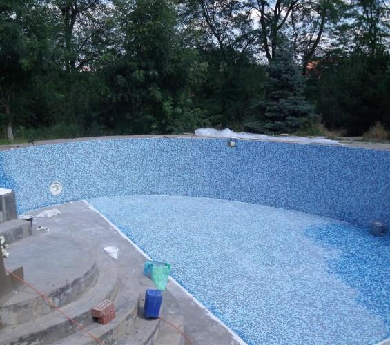 Mozaic piscina 5 Top mosaic - Poza 3