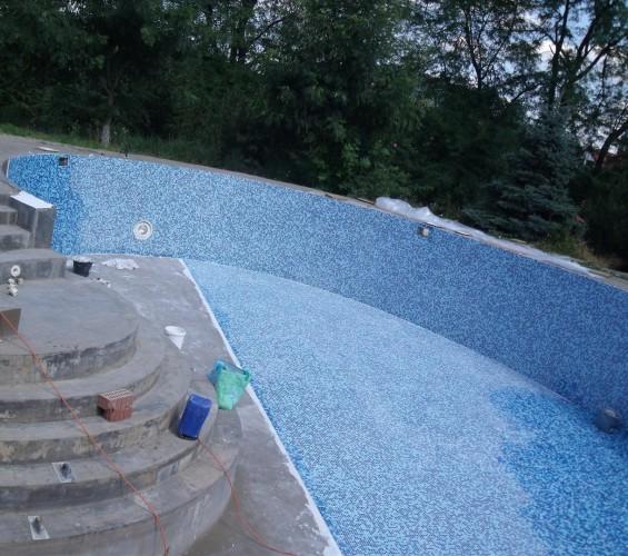 Mozaic piscina 5 Top mosaic - Poza 5
