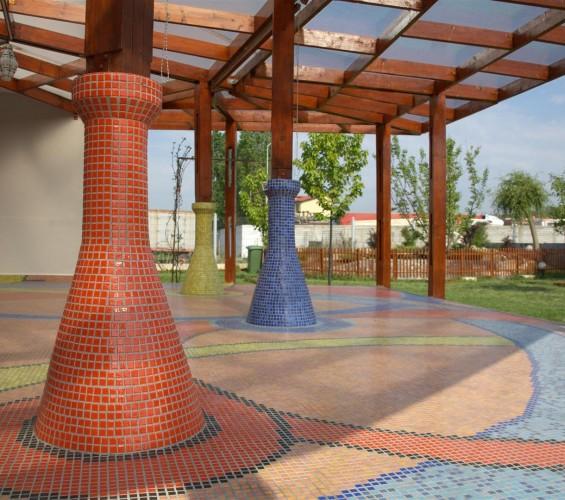 Mozaic terasa exterioara Top mosaic - Poza 1