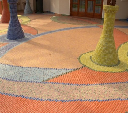 Mozaic terasa exterioara Top mosaic - Poza 2