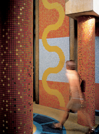 Mozaic BISAZZA - Poza 5